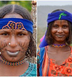 """Ekspedicija Kamerūne: """"Boko Haram"""" teritorijoje – tatuiruoti genties veidai ir stebėtinai atviros santuokos"""