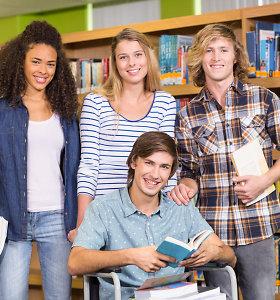 Neįgalumas – ne kliūtis studijoms universitete: turintieji specialiųjų poreikių motyvuojami lanksčia sistema