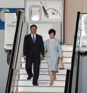 Kinijos prezidentas atvyko į Atėnus