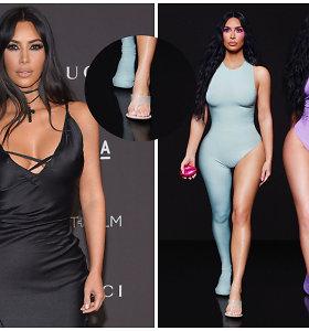 Kim Kardashian fotosesija tapo interneto sensacija: nuotraukoje – grubi fotošopo klaida
