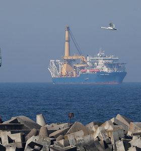"""Naujos JAV sankcijos """"Nord Stream 2"""" būtų nederamos, teigia Berlynas"""