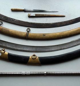 Mirusio vyro namuose Alytaus rajone rasta peiliu, durklų ir šaunamųjų ginklų