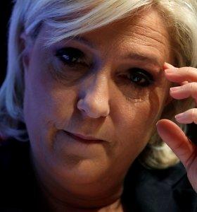 M.Le Pen bus teisiama už IS džihadistų žiaurumų nuotraukų publikavimą