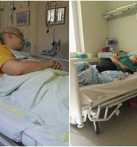 Paskutinė itin retu ketvirtos stadijos vėžiu sergančio 18-mečio viltis – šeimai neįperkami vaistai