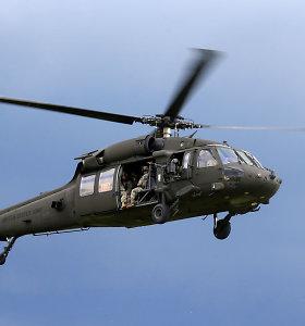 Minesotoje sudužus sraigtasparniui žuvo 3 Nacionalinės gvardijos kariai