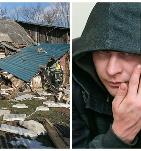 Košmarą išgyvenusi vilnietė prisiminė lemtingą dieną, kai girtas sugyventinis susprogdino namą