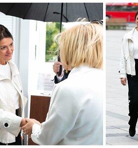 Internete – audringos komentatorių diskusijos: ar pirmoji ponia pasirinko tinkamą aprangos kodą?