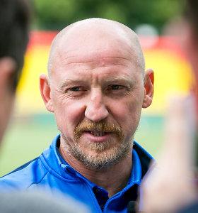 A.Skarbalius turi planą, kaip pralaužti kovingųjų Farerų futbolininkų gynybą