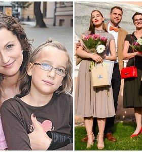 Aktorės Kristinos Savickytės dvynės Gabija ir Justina baigė mokyklą: žada sekti mamos pėdomis