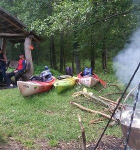 """Ekspedicija """"Baidarė upėje"""": vandens turizmo trasų siekiai ir realybė"""