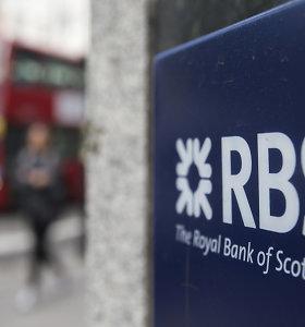 RBS pripažintas nepopuliariausiu Didžiosios Britanijos banku