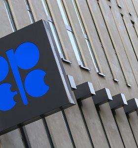 OPEC dar kartą apkarpė naftos paklausos pasaulyje 2020-aisiais prognozę