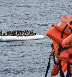 Raudonasis Pusmėnulis: prie Tuniso krantų nuskendo 60 migrantų