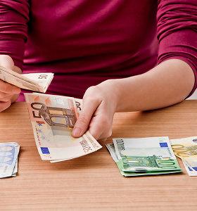 Tyrimas: kaip skirtingų lyčių atstovai Lietuvoje seka ir prižiūri savo išlaidas