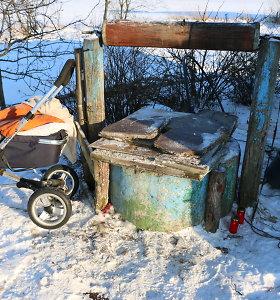 Šulinyje nužudytų vaikų mama bėga nuo problemų į užsienį?
