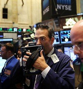 Reikšmingas JAV rodiklis ėmė prognozuoti krizę