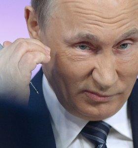 Nacionalinio saugumo strategijoje Vladimiras Putinas JAV ir NATO įvardija kaip grėsmes Rusijai