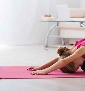 Specialistas apie sportuojančiųjų klaidas: kokie pratimai padės nuo nugaros skausmų