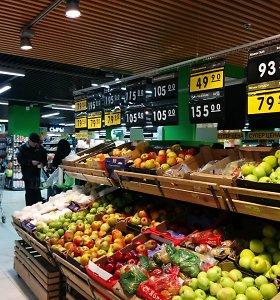 Maistas Rusijoje pirmąkart nuo 2011-ųjų brango lėčiau nei ES