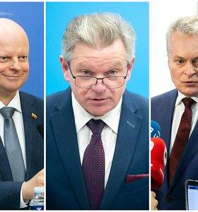 Premjero S.Skvernelio reitingas dar krito žemyn, J.Narkevičius – vis dar nepopuliariausias
