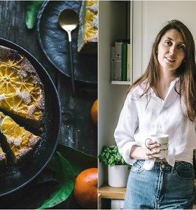 """""""Duonos ir žaidimų"""" receptas: apverstas pyragas su mandarinais"""