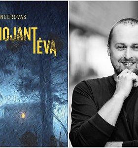 Detektyvinį romaną parašęs Dovydas Pancerovas skaitytojus kviečia į manipuliacijų žaidimą