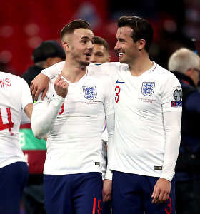 """""""Euro 2020"""" atranka: varžovų nesigailėję anglai – čempionate, prancūzai turėjo vargo"""
