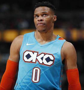 NBA sudrebino grandioziniai mainai – iškeistas Russellas Westbrookas