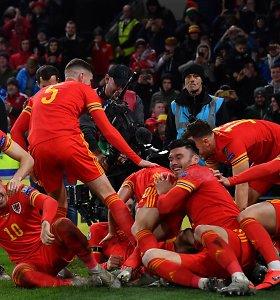 """""""Euro 2020"""" atranka: Velsas iškovojo kelialapį, latviai trinktelėjo durimis"""