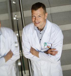 """Sporto gydytojas G.Tankevičius: """"Viešoje erdvėje matau įspūdingas žmonių pergales. Paskui juos matau savo kabinete"""""""