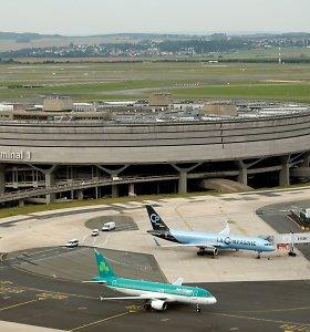 Prancūzijos parlamentarai pritarė idėjai privatizuoti Paryžiaus oro uostus