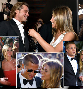 Po slaptų Jennifer Aniston ir Brado Pitto pasimatymų tarp poros vėl užgimė romantiški jausmai?