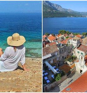 Kroatijos saloje gyvenanti lietuvė rado rojų žemėje ir dalijasi patarimais, ką pamatyti