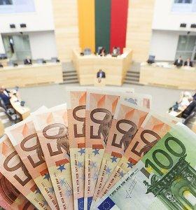 Padėtis kaista: į valstybės biudžetą lėšų šįmet įplaukė jau mažiau, nei prognozuota