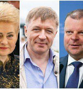 Elito balsavimas: įtakingiausieji – D.Grybauskaitė, R.Karbauskis, S.Skvernelis