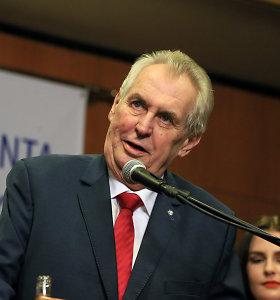 Kosovas atšaukė savo dalyvavimą Prahos viršūnių susitikime po Čekijos prezidento komentarų