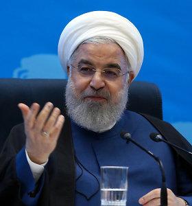 """Iranas pristatė """"pasipriešinimo"""" JAV sankcijoms biudžetą"""