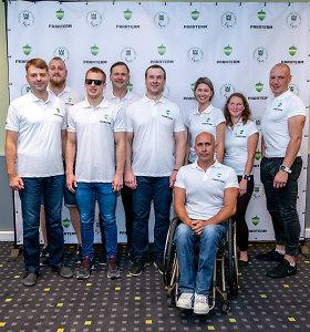 """Paralimpinis judėjimas """"Parateam Lietuva"""" ateina laužyti stereotipų"""