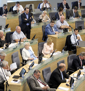 Seimas – prieš žemės saugiklių įstatymo atšaukimą