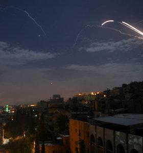 Izraelio aviacija smogė taikiniams Damasko apylinkėse