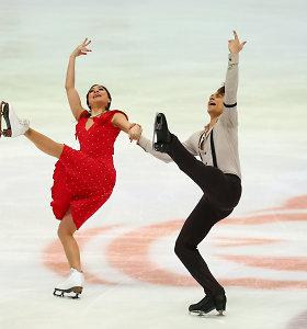 Lietuvos šokėjų ant ledo pora pirmą kartą karjeroje įsiveržė į Europos čempionato 10-tuką