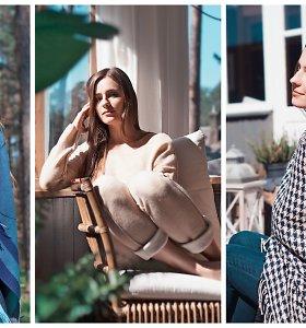 """Aktorė Austėja Lukaitė tapo alpakų vilnos gaminių modeliu: """"Vertinu iš mados neišeinančius drabužius"""""""