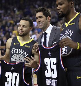 Pristatyti išmanieji NBA marškinėliai: akimirksniu galima pakeisti numerį ir pavardę
