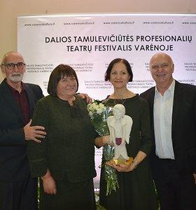 Devintojo Dalios Tamulevičiūtės profesionalių teatrų festivalio uždaryme nominuoti geriausi kūrėjai