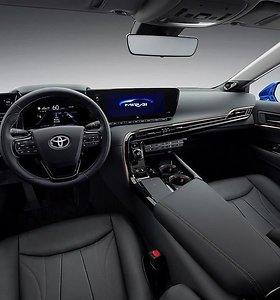 """Palyginkite: kuo skiriasi pirmos kartos """"Toyota Mirai"""" ir antros kartos """"Mirai Concept"""""""