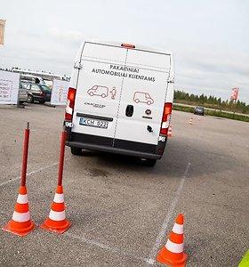 Išrinktas geriausias Lietuvos komercinio transporto vairuotojas