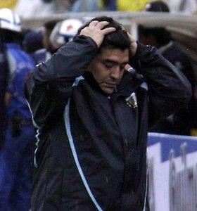 Kartus Maradonos ir argentiniečių pralaimėjimas