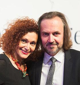 Oskaras Koršunovas kino šventėje pristatė mylimąją – fotografę iš Paryžiaus Alexandrą Kremer