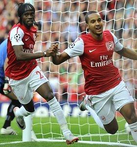 """Čempionų lygos atrankoje sunki """"Arsenal"""" pergalė ir Giedriaus Arlauskio ekipos nesėkmė"""