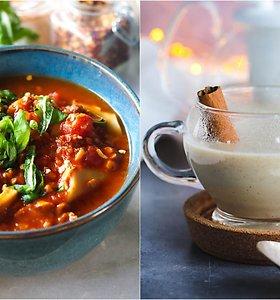 """auGalingas pirmadienis: lazanijos sriuba ir desertinis gėrimas """"Kreminis Londono rūkas"""""""